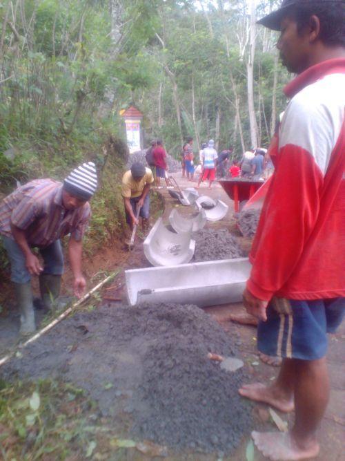 Image : Pembangunan Talud Dusun Temanggal